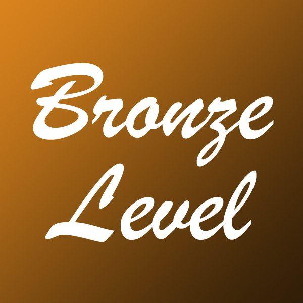 Sponsor Button Bronze
