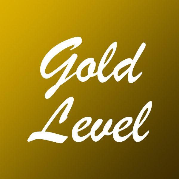 Sponsor Button Gold